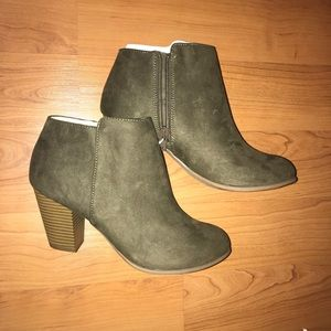 Women's Heeled Ankle Booties